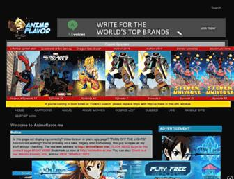 Thumbshot of Animeflavor.com