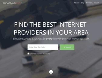 broadbandnow.com screenshot