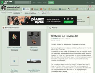 elrunethe2nd.deviantart.com screenshot