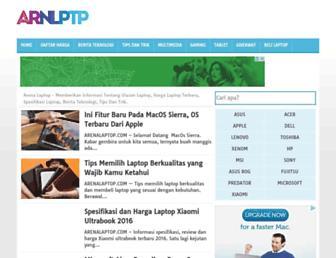 arenalaptop.com screenshot