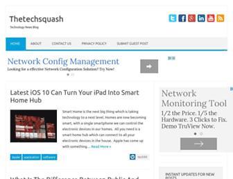 Thumbshot of Thetechsquash.com