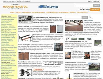 Thumbshot of Hooverfence.com