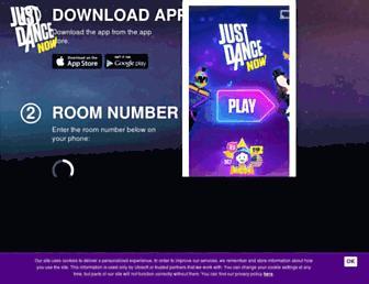 Thumbshot of Justdancenow.com