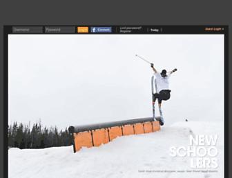 newschoolers.com screenshot