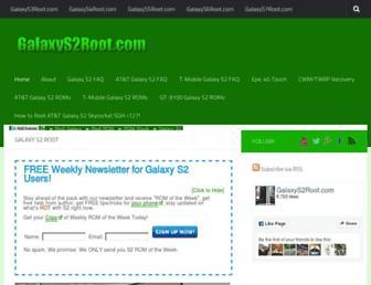galaxys2root.com screenshot