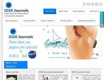 iosrjournals.org screenshot