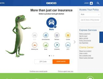 Thumbshot of Geico.com