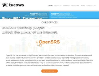 tucows.com screenshot