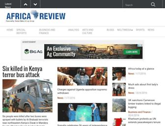 Thumbshot of Africareview.com