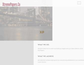 xtremepapers.co screenshot