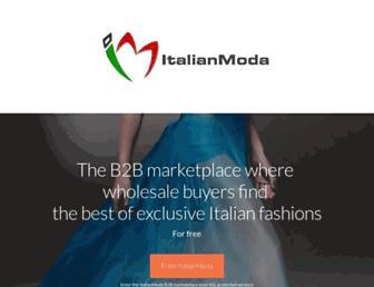 italianmoda.com screenshot