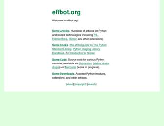 Thumbshot of Effbot.org