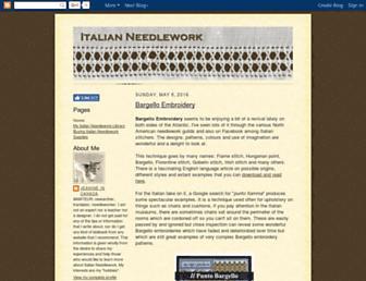 italian-needlework.blogspot.com screenshot