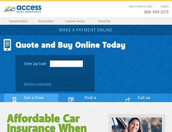 access-insurance.com screenshot