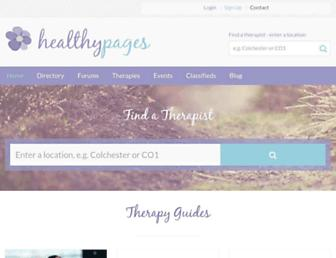 Thumbshot of Healthypages.net