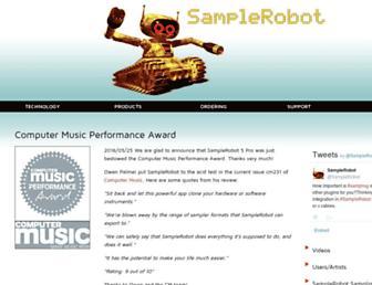 samplerobot.com screenshot