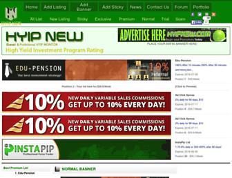 Thumbshot of Hyipnew.com