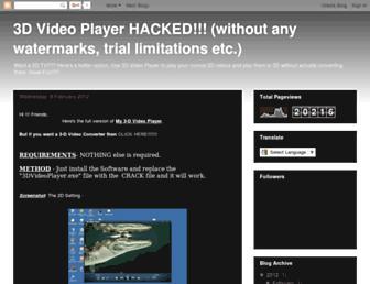 3d-video-player-full-version-crack.blogspot.com screenshot