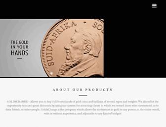 Thumbshot of Gold4change.com