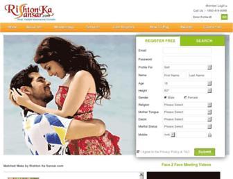Thumbshot of Rishtonkasansar.com