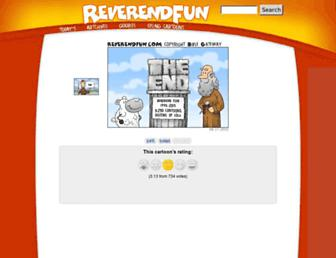 reverendfun.com screenshot