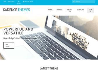 kadencethemes.com screenshot