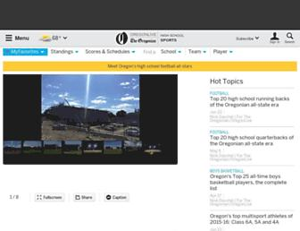 highschoolsports.oregonlive.com screenshot