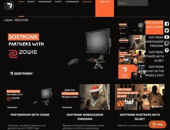 sostronk.com screenshot