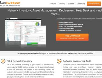 lansweeper.com screenshot