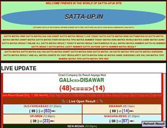 satta-up.in screenshot