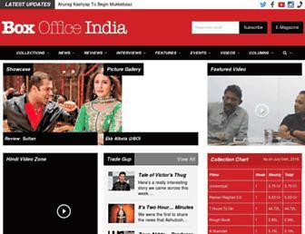 Thumbshot of Boxofficeindia.co.in