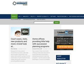 insurance-forums.com screenshot