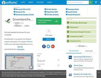 driveridentifier.en.softonic.com screenshot