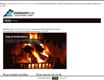 Thumbshot of Energinfo.dk