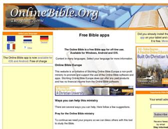 onlinebible.org screenshot