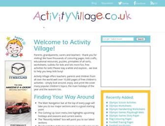 Thumbshot of Activityvillage.co.uk