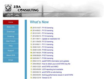 zoa.com screenshot