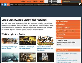 supercheats.com screenshot