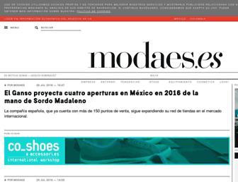 modaes.es screenshot
