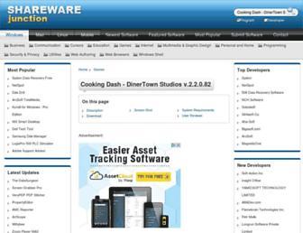 cooking-dash---dinertown-studios.sharewarejunction.com screenshot