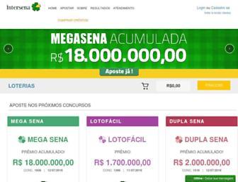 intersena.com.br screenshot