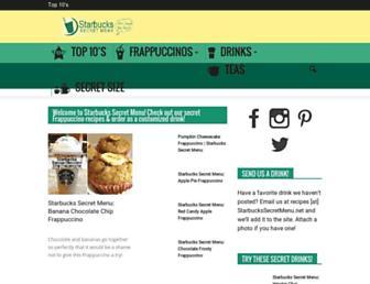 Thumbshot of Starbuckssecretmenu.net