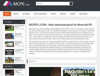 mcpefl.com screenshot