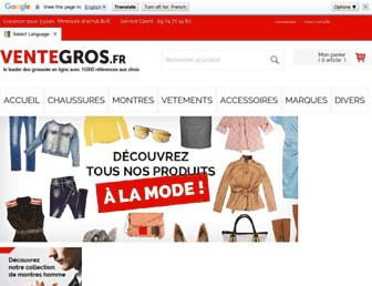 ventegros.fr screenshot