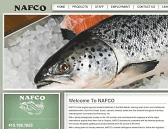 nafcofish.com screenshot