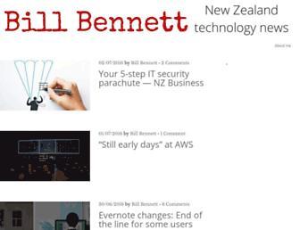 billbennett.co.nz screenshot