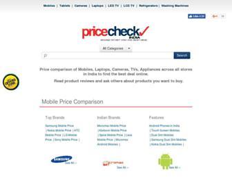 Thumbshot of Pricecheckindia.com