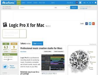 logic-pro.en.softonic.com screenshot