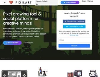 pixilart.com screenshot