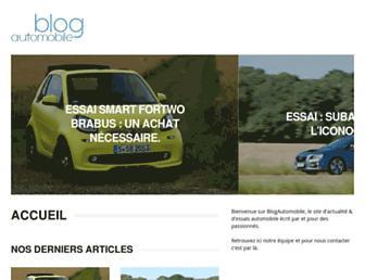 blogautomobile.fr screenshot